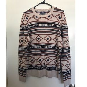 Used once men's pullover sweater.